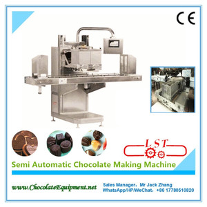 LSTSM150 Semi automatic chocolate making machine